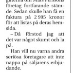 2010-10-08 Ludvika Tidning