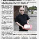 2014-07-18 - Borås Tidning