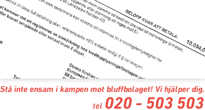Hjlp mot bluffakturor
