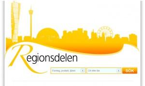 regionsdelen hemsida