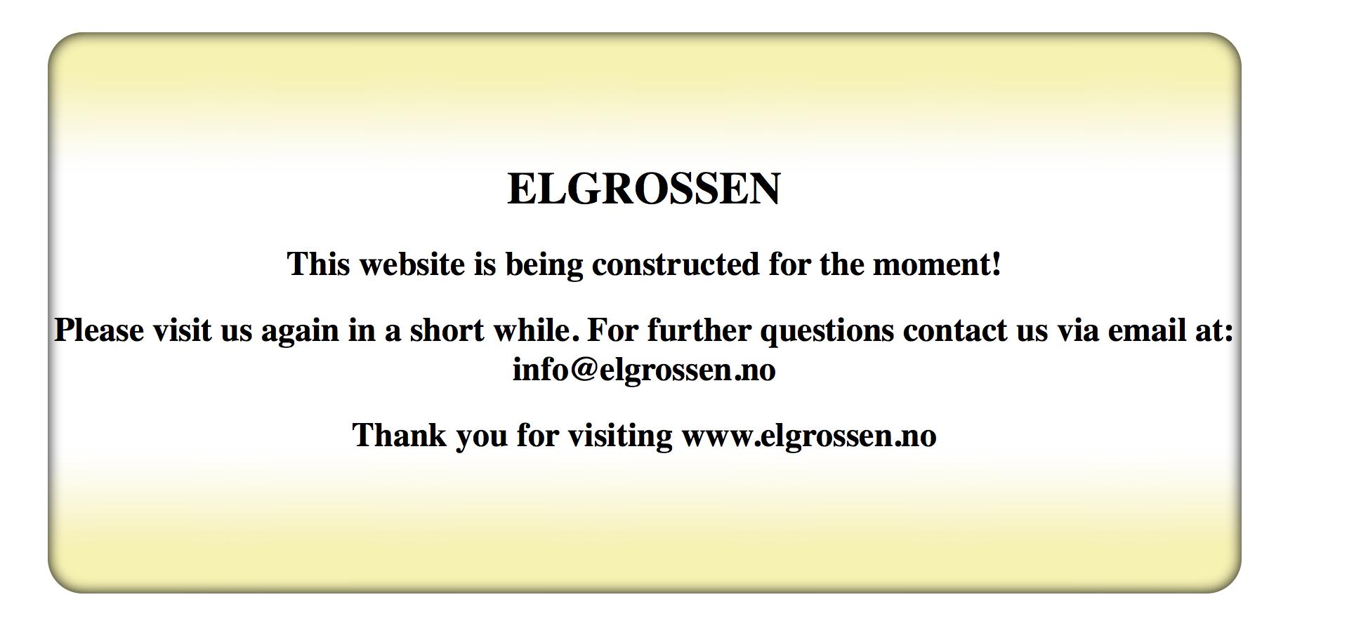 Elgrossen.no